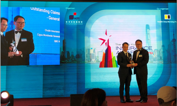Awards for Chubb's General Insurance