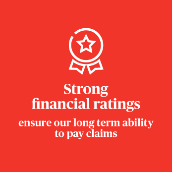 Strong financial ratings